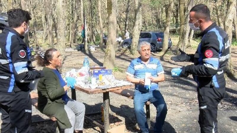 Yasağın ardından piknik alanları boşaltıldı