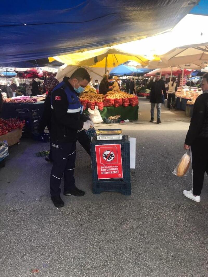 Nilüfer'de market ve pazarlarda sıkı denetim
