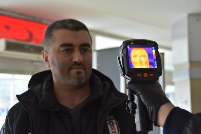 Kocasinan Belediyesi'nden koronavirüse termal kameralı önlem