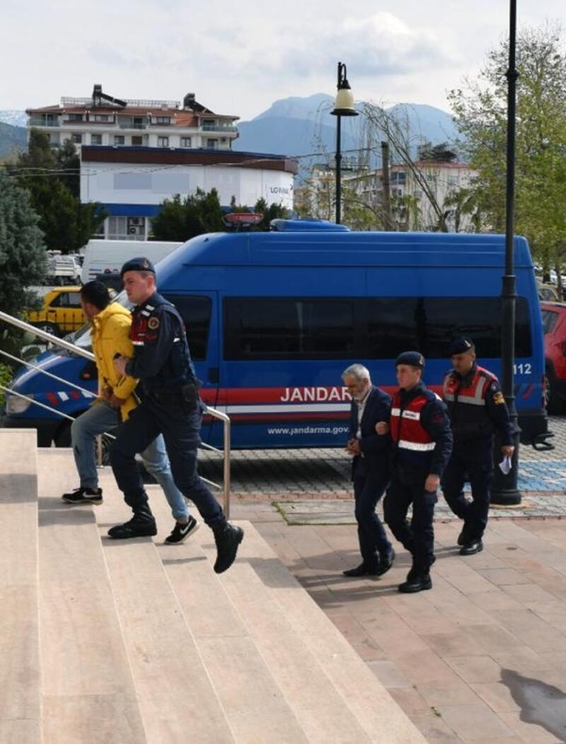 Gazipaşa'da aranan 3 kişi gözaltına alındı