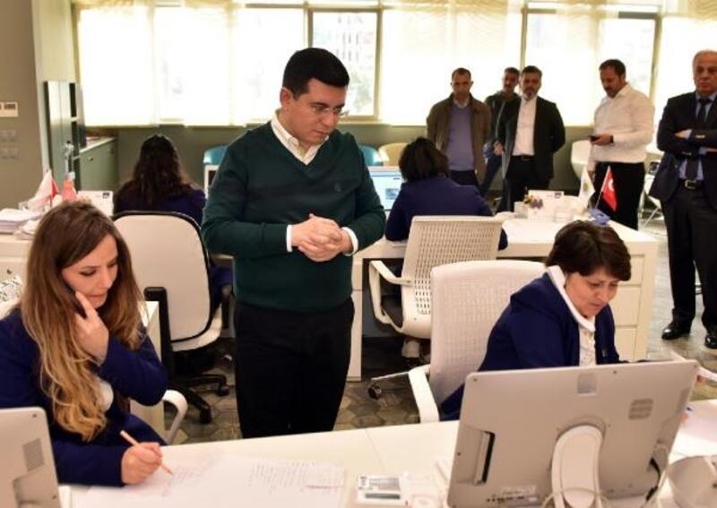 Kepez Belediyesi 7 gün 24 saat görevde