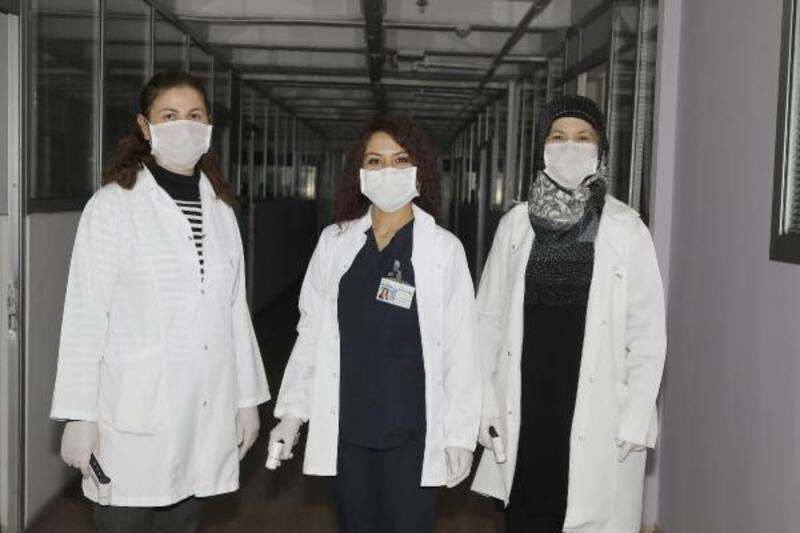 Çankaya Belediyesi, hizmet binasında virüs önlemleri