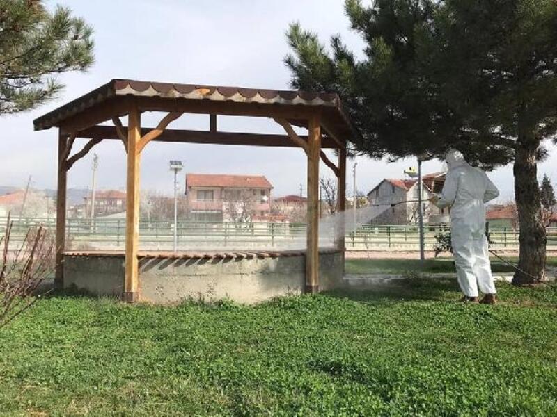 Turhal'da koronavirüs önlemleri