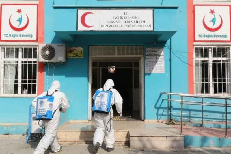 Kırsal mahallelerde koronavirüs ile mücadele ediliyor