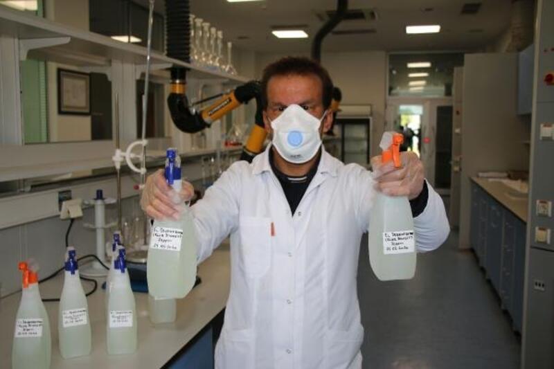 Büyükşehir kendi maske ve dezenfektanını üretiyor
