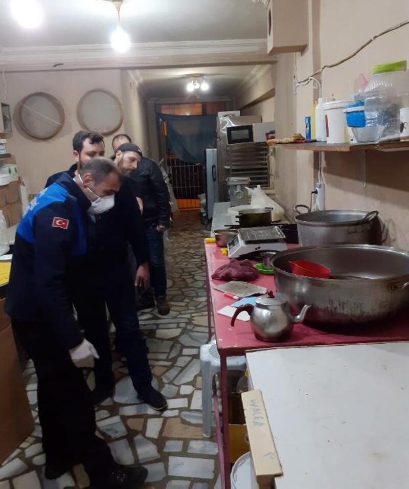 Osmangazi'de ruhsatsız işyeri mühürlendi