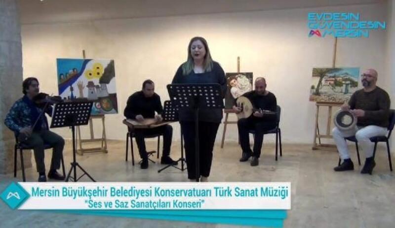 Mersin'de kültür ve sanat etkinlikleri online devam ediyor