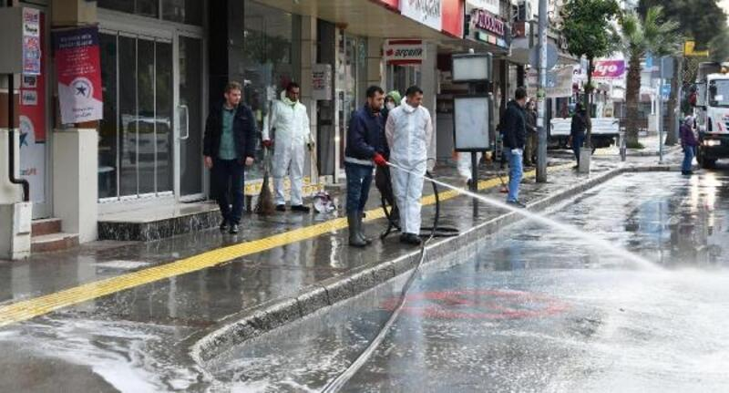 Narlıdere'de 6 mahalle dezenfekte edildi