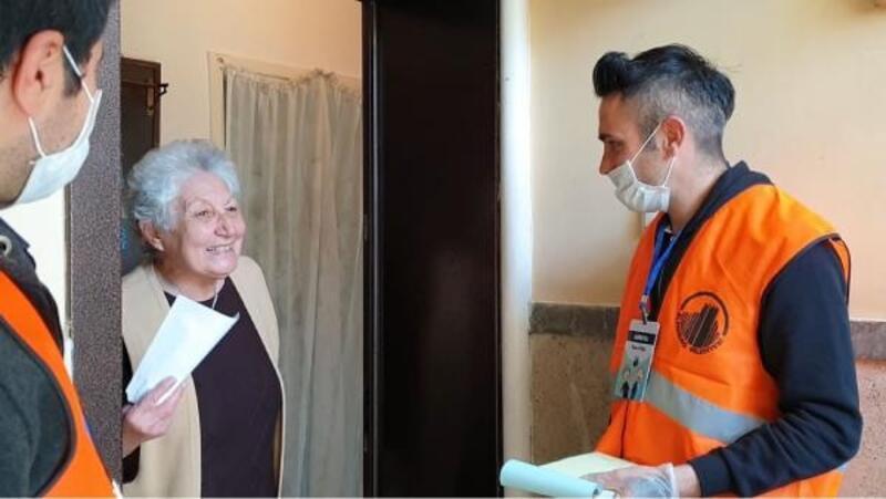 Altındağ Belediyesinden 60 yaş üstü vatandaşlara alışveriş desteği