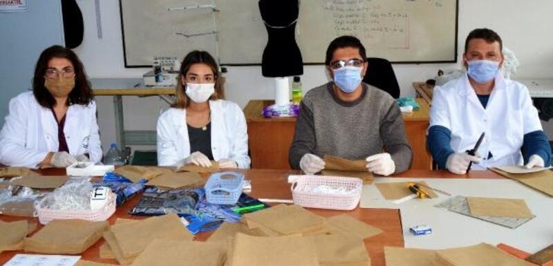 AKHEM'den maske desteği