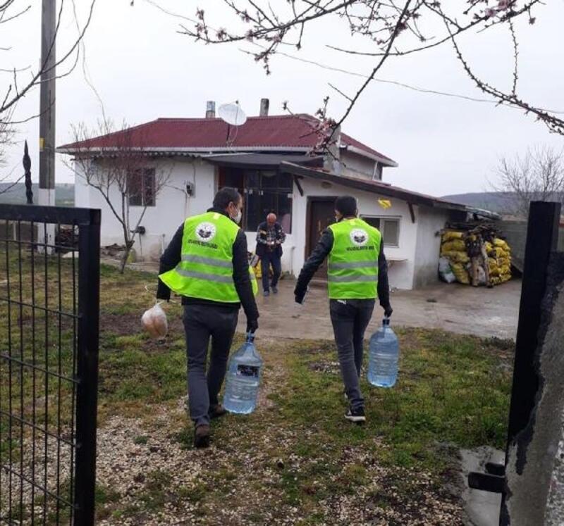 Kırklareli'de, 'Evde Kal, Dışarıda Çalışanları Destekle' kampanyası