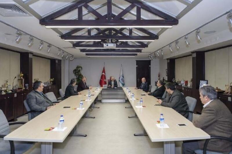Belediye Başkanlarından 'koronavirüs' toplantısı