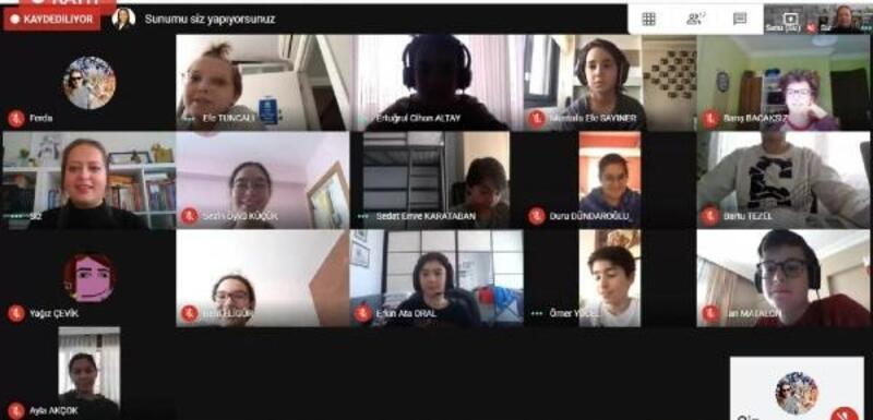 Online eğitimlerde PDR desteği