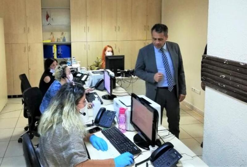 Kaymakam Şahin'den Vefa Destek Merkezi'ne ziyaret