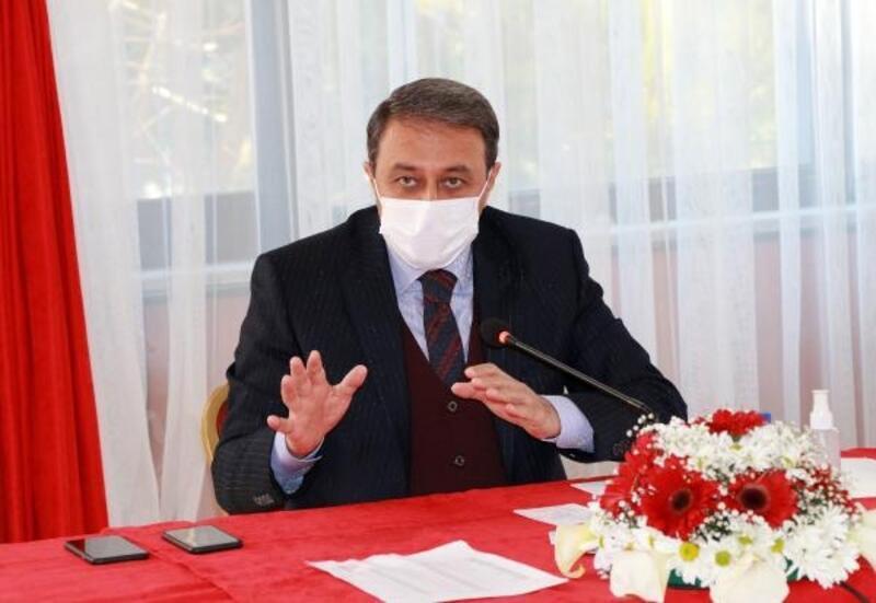 Burdur'da koronavirüs tedbirleri toplantısı
