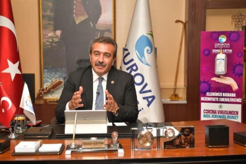 Başkan Soner Çetin, salgın sonuna kadar maaşını bağışladı