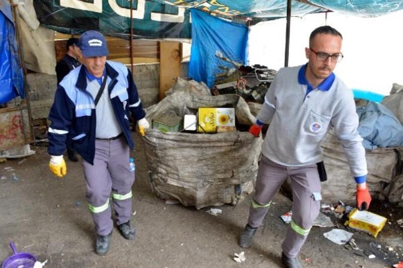 Kaçak atık depolama yerleri kapatıldı