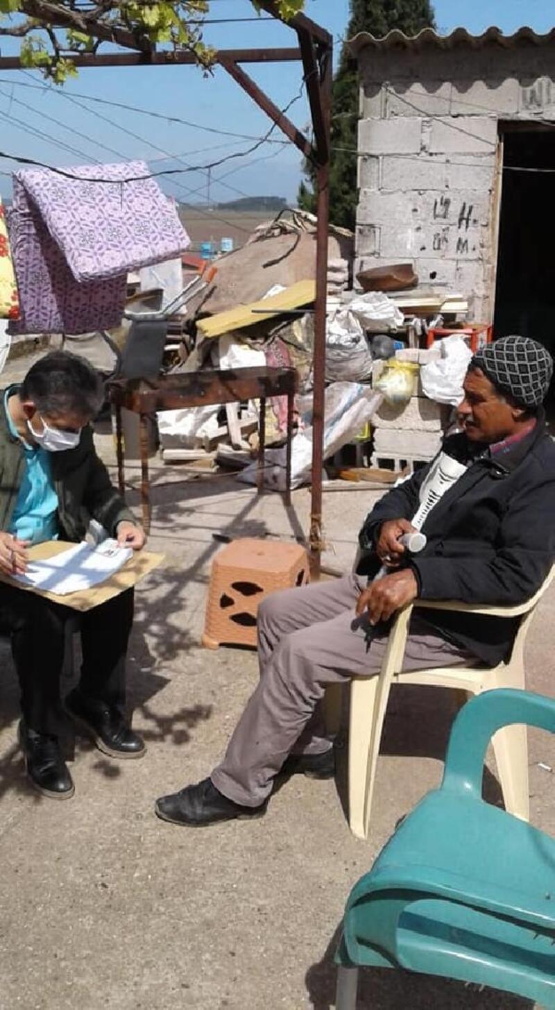 Reyhanlı'da Vefa Sosyal Destek Grubu'nca 9 bin 634 kişiye maaşı ulaştırıldı