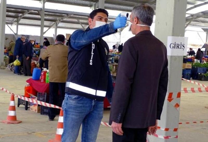 Hisarcık'ta koronavirüs tedbirleri artırıldı