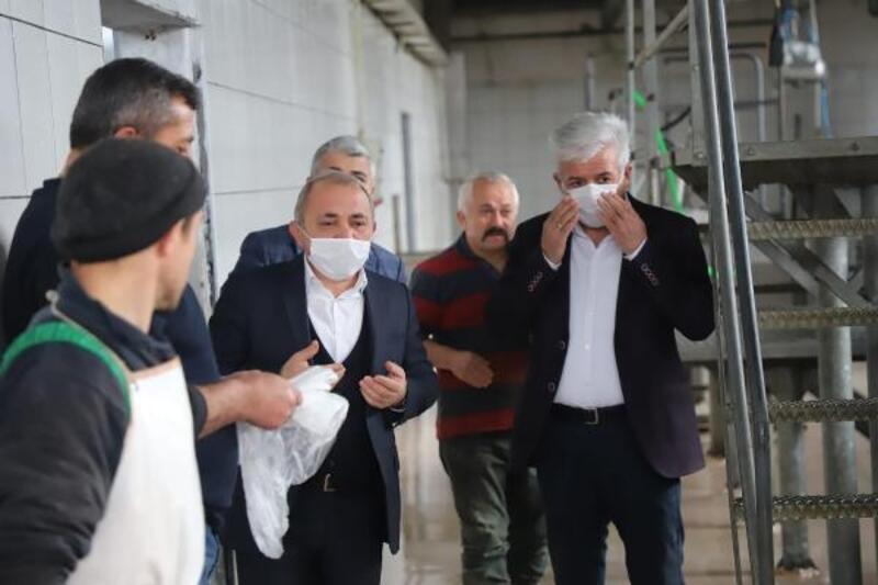 Çankırı'da koronavirüsün bitmesi için kurban kesildi