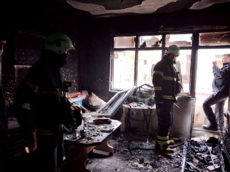 Şarköy'de aynı gün iki yangın, korkuttu