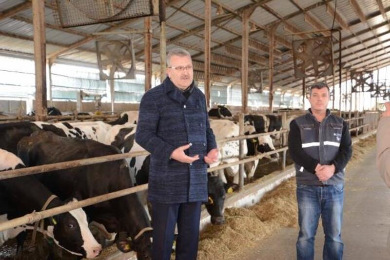 Karacabey Belediye Başkanı Özkan'dan üreticilere destek ziyareti