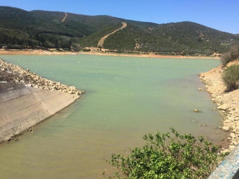 Keşan'da barajdaki doluluk oranı yüzde 33'e yükseldi