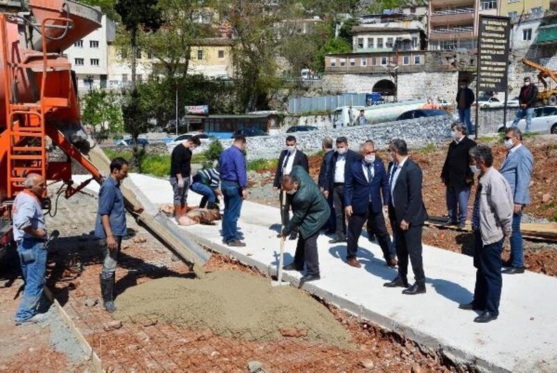 Belen'de Milet Bahçesi'nin temeli atıldı