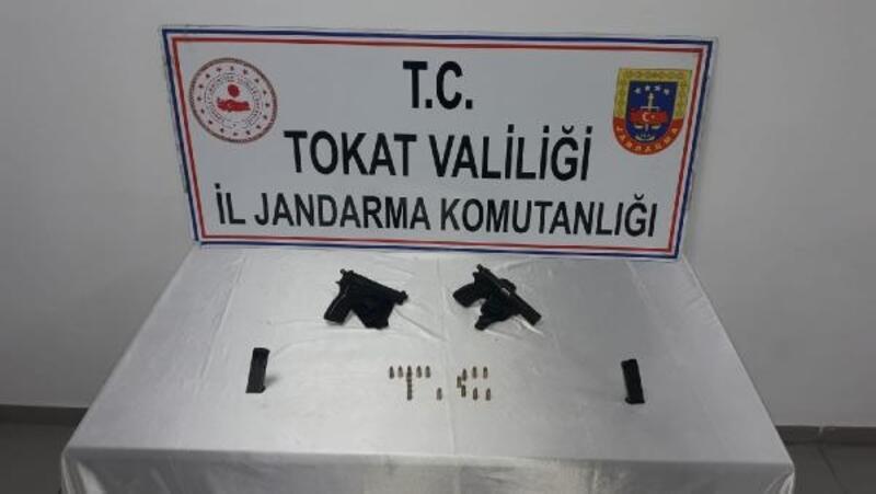 Tokat'ta jandarmadan silah operasyonu