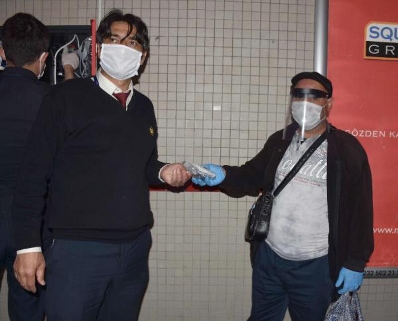 İzmir Büyükşehir Belediyesi'nden maskematik