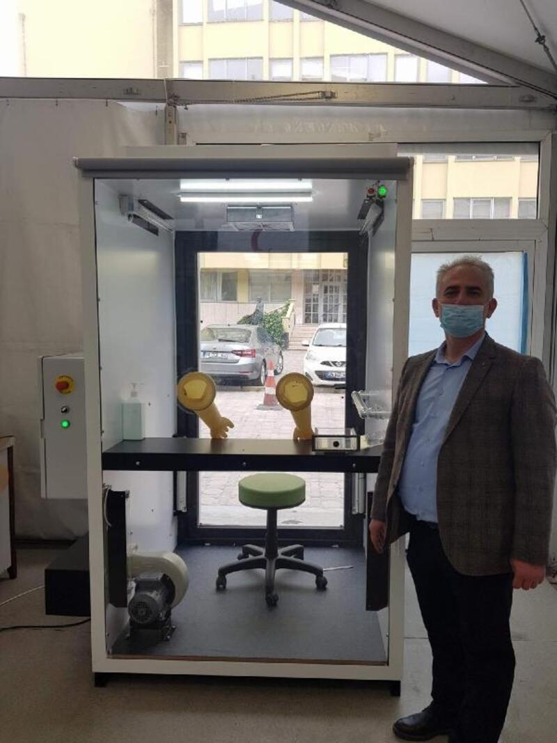 Türk bilim insanları tasarladı: COVID-19 testi bu istasyonda yapılıyor
