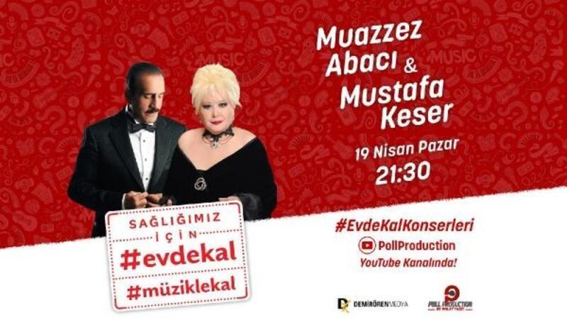 Muazzez Abacı ve Mustafa Keser canlı yayında buluşacak