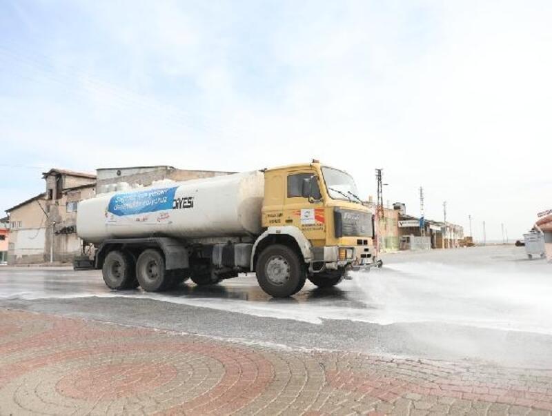 Kocasinan'da dezenfekte çalışmaları devam etti