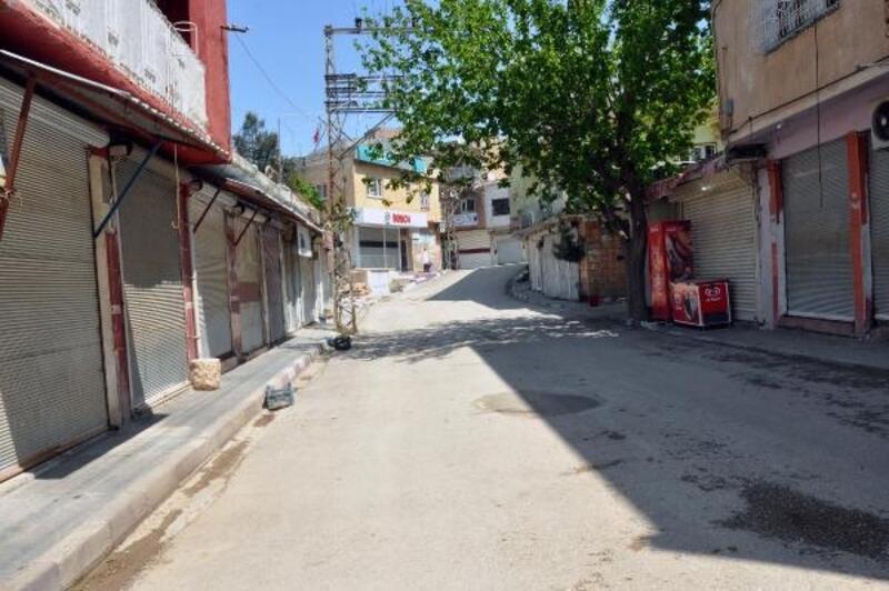 Derik'te sokaklar sessiz