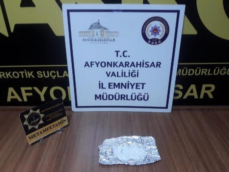 Afyonkarahisar'da polisten uyuşturucu operasyonu
