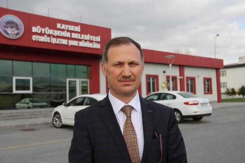Kayseri'de toplu taşıma seferlerine 'koronavirüs' düzenlemesi