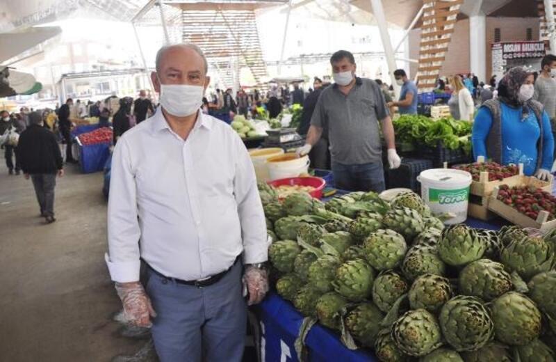 Manavgatlı pazarcılar kurallara uyum sağladı