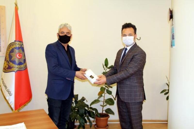 Göksun'da haftada 2500 maske üretiliyor
