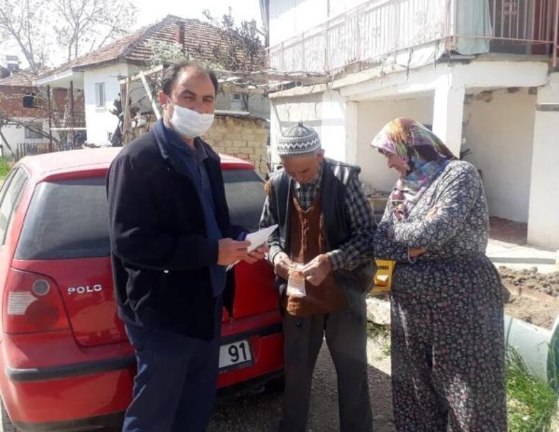 Korkuteli'de 563 kişiye yardım
