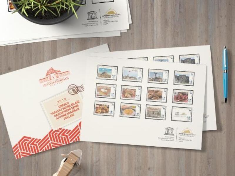 Gastronomi hatıra pulları hazırlandı