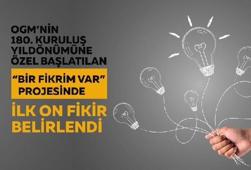 'Fikrim Var' projesinde ilk 10 fikir belli oldu