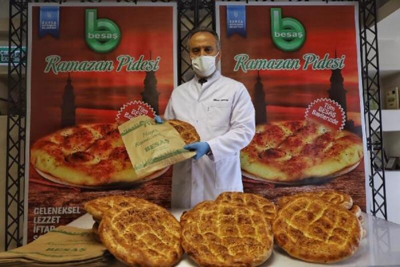 Bursa'da Ramazan pidesi 2,5 TL
