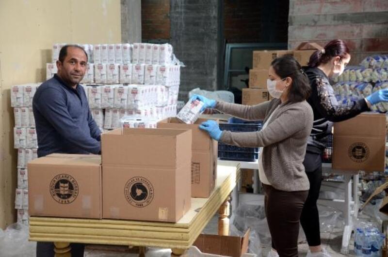 Borsa'dan 1000 aileye gıda yardımı