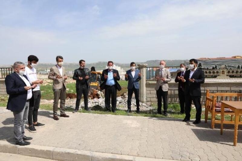 Mardin'de hafızlık okulunun temeli atıldı