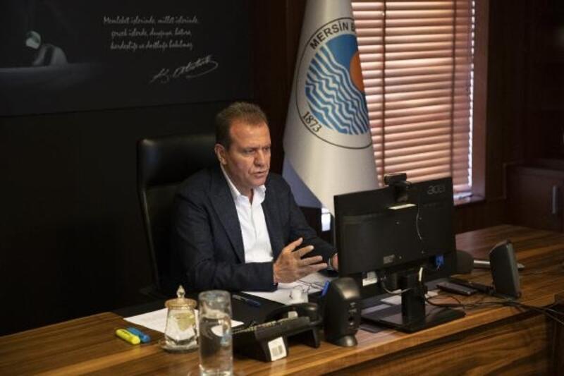 Başkan Vahap Seçer, ilçe belediye başkanlarıyla görüştü