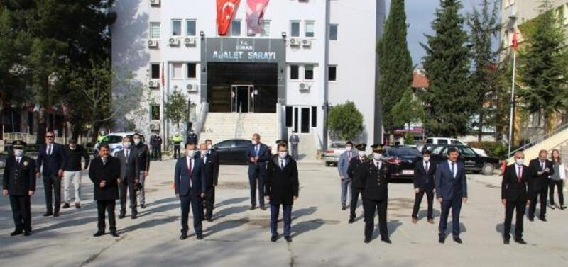 Dinar'da 23 Nisan töreni