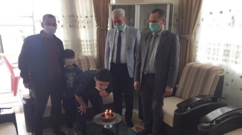 İslahiye'de 17 öğrenciye doğum günü sürprizi