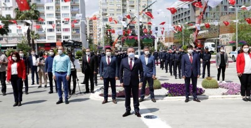 Büyükşehir'de 23 Nisan töreni