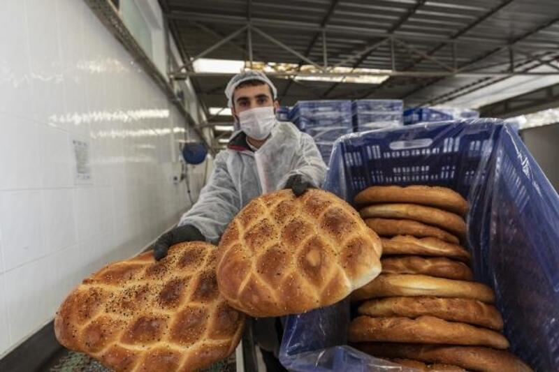 Büyükşehir, ramazan pidesi üretimine başladı