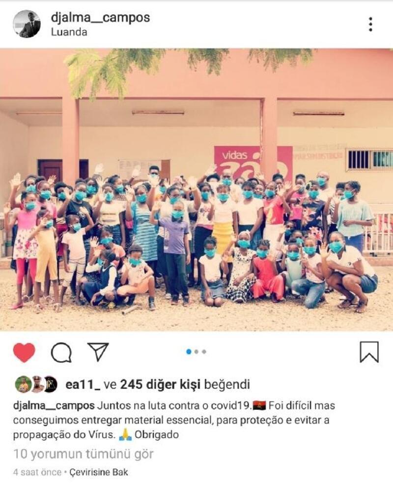 Alanyasporlu futbolculardan ülkelerine yardım